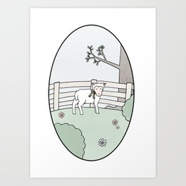 Special Sheep Art Print