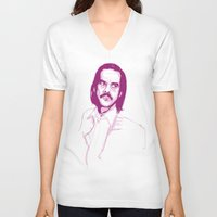 nick cave V-neck T-shirts featuring Nick Cave by 1and9