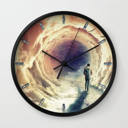 Shortcut to the Sea Wall Clock