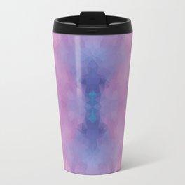 Kaleidoscopic design in soft colors Travel Mug