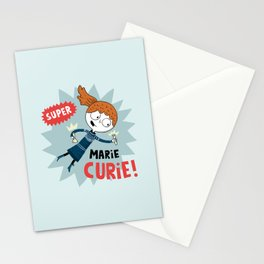 Super Marie Curie Stationery Cards