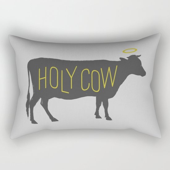 Holy Cow! Rectangular Pillow
