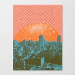 Metropolis Landing III Canvas Print