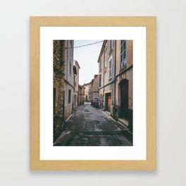 Street Majorca Framed Art Print