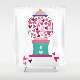 Gummy Jar Shower Curtain