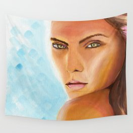 Sunkissed Face Wall Tapestry
