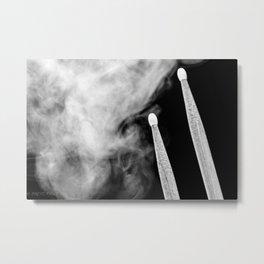 SMOKE N STICKS Metal Print