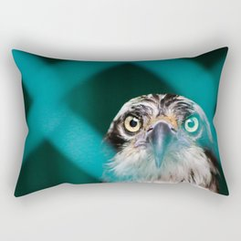 ABSTRACT PHOTO OF OSPREY BIRD Rectangular Pillow