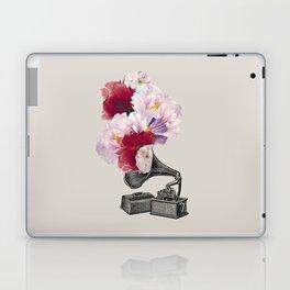 Flower gramophone Laptop & iPad Skin