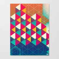 scales Canvas Prints featuring Scales  by sixsixtysix