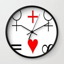 Woman Woman Wall Clock