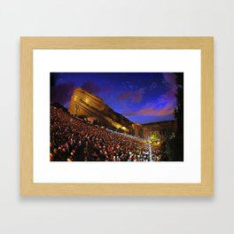 Sublime with Rome Live at Red Rocks - Concert Poster Framed Art Print