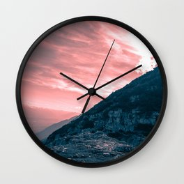 Path of Courage Wall Clock