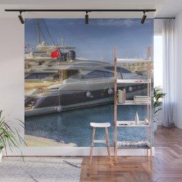 Pershing 90 Yacht Wall Mural