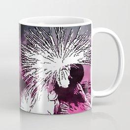 Grey-Crested Crane Coffee Mug