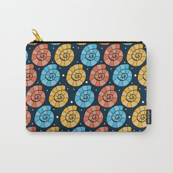Colour Shells Pattern Carry-All Pouch