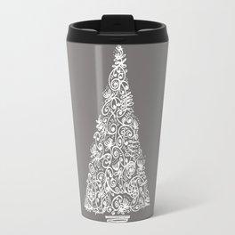 A Christmas tree in New Zealand Travel Mug