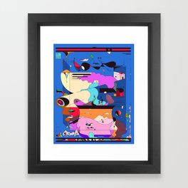 Sushi Night Framed Art Print