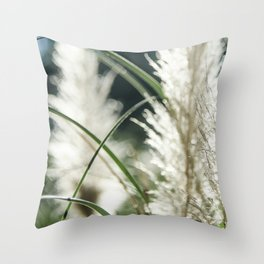 Dissolving in three stages Throw Pillow