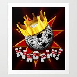 KINGPIN! Art Print