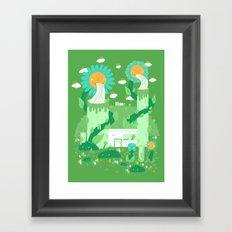 Power plant Framed Art Print