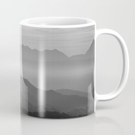 Misty mountains Coffee Mug