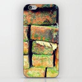 Green Stack iPhone Skin