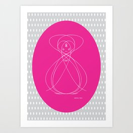 Sensei II Art Print