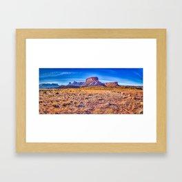 Castle Valley Morning Framed Art Print
