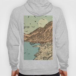 Mountain, Train & Lake Hoody
