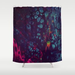 Synthwave Shower Curtain