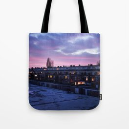 Groningen Sunset, The Netherlands Tote Bag