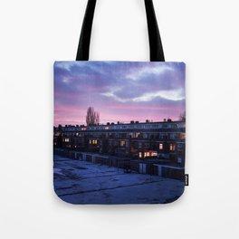 Groningen Sunset, The Netherlands Tote Bag