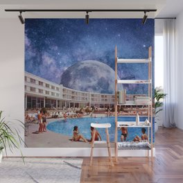 Summer in Space Wall Mural