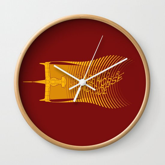 Space Horse (Spikes Horse)Bebop)Cowboy)Swordfish) Wall Clock