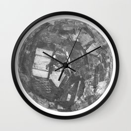 I've got the whole world in my hands Wall Clock