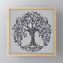 Tree of Life Silver Framed Mini Art Print