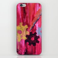future iPhone & iPod Skins featuring Future by Jennifer Forsythe