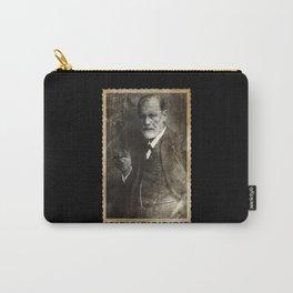 Retro Sigmund Freud Photo Carry-All Pouch
