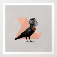 like a bird Art Print