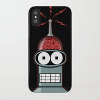 bender iPhone & iPod Cases featuring Bender by Betmac