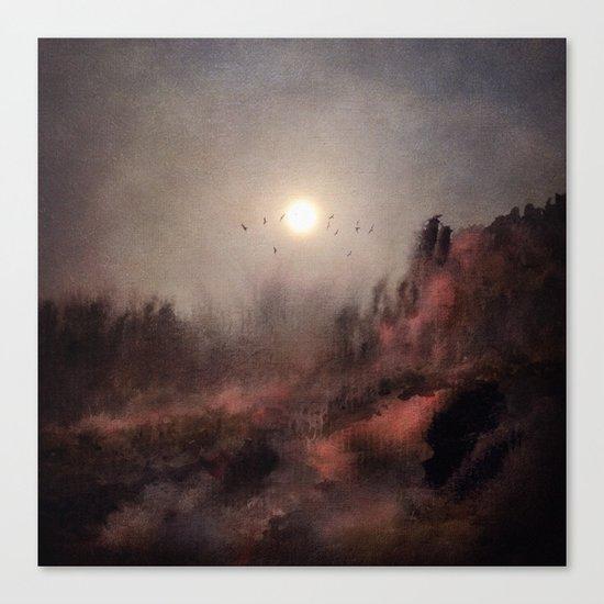 Calling The Sun c.o. Canvas Print