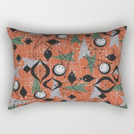 Mid Century Atomic Arrow Patterns Rectangular Pillow