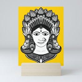 Indian Princess  Mini Art Print