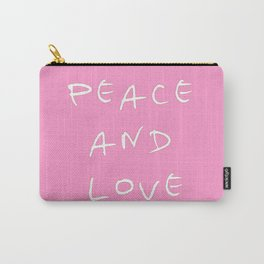 Peace and love 3 Carry-All Pouch