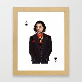 Ace Cady Framed Art Print