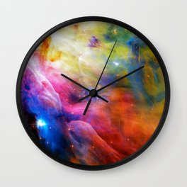 Hubble 1 Orion Nebula M42 Wall Clock