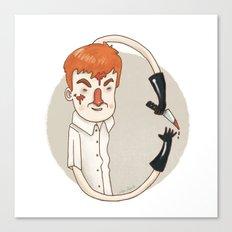 Dexter (Alphabet series TV) Canvas Print