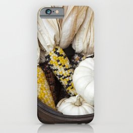 Gourds and Indian Corn 3 iPhone Case