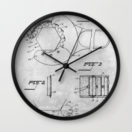Engaging wrench Wall Clock